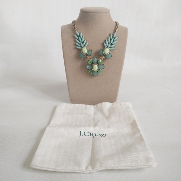 J. Crew Factory Jewelry - Teal J Crew Factory Statement Necklace